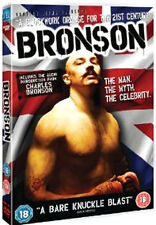 BRONSON (Tom Hardy) - DVD - REGION 2 UK