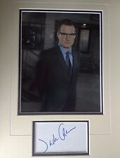 JACK COLEMAN - POPULAR AMERICAN ACTOR -  SUPERB SIGNED COLOUR PHOTO DISPLAY