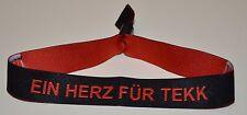 """Stoffbändchen """"Tekk is Back- Ein Herz für Tekk"""""""