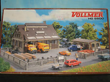 VOLLMER HO SCALE #5600 BAUHOF CONTRACTOR'S YARD *