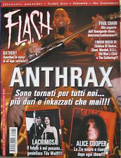 FLASH 169 2003 Anthrax Alice Cooper Lacrimosa Paul Chain Bathory Audioslave