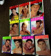 Advocate Men Magazine -Gay interest - 10 Issues mixed years, Nice Condition.