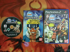 NARUTO ULTIMATE NINJA 2 PLAYSTATION 2 PS2 INVIO 24/48H