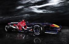 Encadrée imprimer-red bull formule 1 voiture de course (photo mercedes williams ferrari)