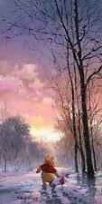 Snowy Pass - Rodel Gonzalez - Limited Edition Giclee on Canvas