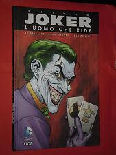 BATMAN-joker UOMO CHE RIDE-DI:BRUBAKER-1° EDIZIONE PICCOLA- LION-NUOVO cartonato