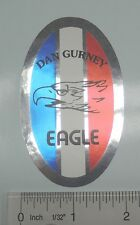 Dan Gurney Eagle headbadge