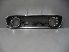 64 65 Mustang instrument cluster bezel dash 64 Falcon