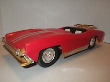 1960's De Luxe Reading Tooper Toys Penny Bright Red Race Coupe Vintage - RARE!