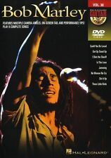 Guitar Play-Along Bob Marley Learn to Play Reggae Rock Guitar Music DVD