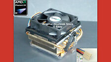 GENUINE AMD PHENOM X4 HEATSINK COOLING FAN FOR SOCKET  AM3-AM2+ 9000 SERIES NEW
