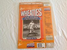 Vintage General Mills Wheaties MLB Babe Ruth Collectors Edition Cereal Box