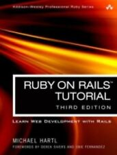 Ruby on Rails Tutorial : Learn Web Development with Rails by Michael Hartl...