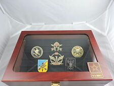 US Army Challenge Coin Holder Box