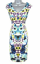 BNWT Star by Julien Macdonald Floral Mosaic Evening Occasion Dress Size 10 NEW