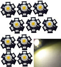10x Hi-Power LED 3W warmweiß STAR 3000-3500K  200-230lm
