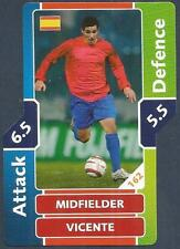 TOPPS MATCH ATTAX WORLD CUP 2006- #162-SPAIN-VICENTE