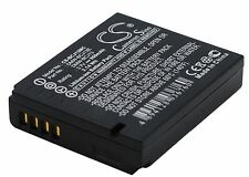 Li-ion batería para Panasonic Lumix Dmc-lx5k Lumix Dmc-lx5w Nuevo