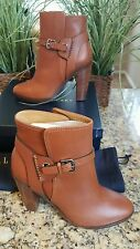 "Ralph Lauren Women's Collection Leonora Leather Bootie 5"" Italy Size 9 $895"