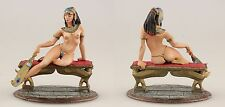 ELITE tin toy painted soldiers 80mm girl