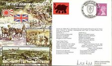 JS50/43/3 WWII WW2 First Arakan Campaign signed cover