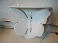 Vintage butterfly shaped display shelf painted with Annie Sloan chalk paint