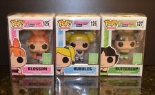 SDCC 2016 Funko Pop! Hot Topic Exclusive Power Puff Girls Set - MIB