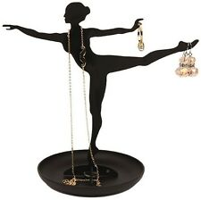 Kikkerland BALLERINA BALLET DANCER Jewelry Stand for earrings,ring,necklace JK08