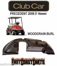 Club Car Precedent Golf Cart Dash Cover 2008.5'-Newer WOODGRAIN BURL