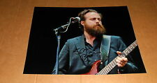 Sam Beam *Iron & Wine* original signed Foto 20x27 cm (8x12 Inch)