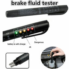 5 LED Brake Fluid Tester Car Vehicle Auto Automotive Diagnostic Testing Tool J#~