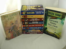 Glen Cook Complete Garett P I Series 14 Novels Fantasy plus Mystery