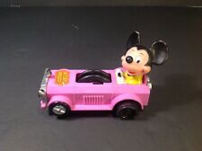 Vintage Mickey Mouse Rolling Car Hong Kong