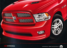 2010 Dodge Ram Truck Factory Original Accessories Brochure Catalog - Hemi Mopar