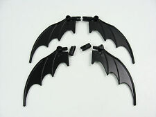 4x LEGO Batman Mobile Black Wings Dragon Animal 8x10 7884 7880 w/Hinges #55706