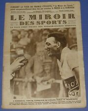 MIROIR DES SPORTS N°435 1928 CYCLISME TOUR FRANCE LEDUCQ TENNIS WIMBLEDON