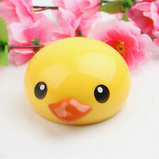 Yellow Duck Contact Lens Case Travel Mirror Tweezers Solution Storage Kit GP