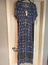 spell and the gypsy collective Oracle Maxi Dress Indigo Size S BNWT