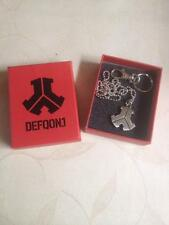 Brand New Defqon.1 Anhänger Chain Necklace kette Q-Dance Qlimax | Q Base Silver