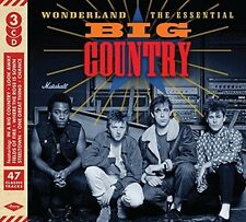 BIG COUNTRY 'WONDERLAND : THE ESSENTIAL' (Best Of) 3 CD SET (31st March 2017)