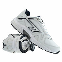 Mens Hi Tec R156 Casual Leather Walking Running Gym Sports Trainers Shoes Size