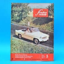 Der Deutsche Straßenverkehr 5/1962 DDR Reifen Formelrennsport Motorrad-WM