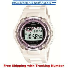 CASIO Baby-G BGR-3003-7BJF Solar Multiband 6 White Purple Ladies Watch Japan F/S
