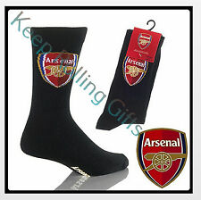 Mens Novelty Gift Socks Arsenal 6-11 Xmas Stocking Fillers Birthday Presents