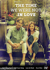 The Time We Were Not In Love Korean Drama (4DVDs) Excellent English & Quality!