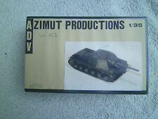 1/35 scale Zimut Productions  Russian SU 152 Resin Conversion kit