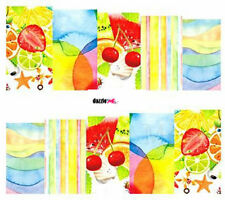 Nail Art Sticker Water Decals Transfers Decorative Art Summer Fruit (DC266)