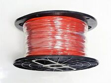 16 GAUGE WIRE RED 200 FT ON A REEL PRIMARY AWG STRANDED COPPER POWER MTW