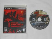 Dead Island Riptide Special Edition Playstation 3 Game PS3 Disc & Case US NTSC