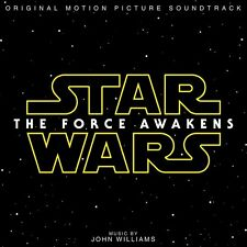 Star Wars The Force Awakens Soundtrack CD Sealed ! New ! 2016 !